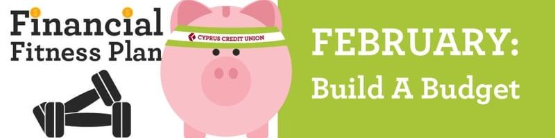Build a Budget - Financial Fitness Plan
