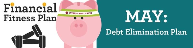 Create Debt Elimination Plan - Financial Fitness Plan